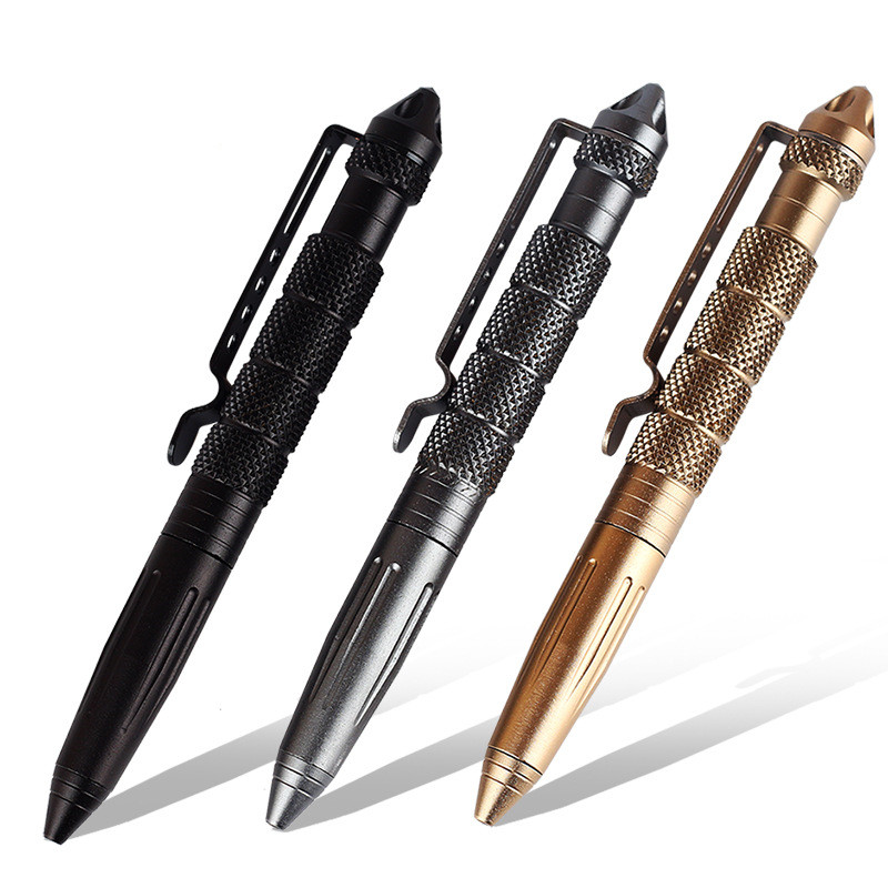 Hunting Survival Self-Defense Tactical Pen Camping Multifunctional Tool Multi Aluminum Alloy Tool Set Outdoor Self Defense Tools outlife new style professional military tactical multifunction shovel outdoor camping survival folding spade tool equipment