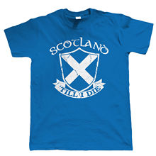 Scotland Till I Die Mens T Shirt - Football Rugby Patriotic Harajuku Tops t shirt Fashion Classic Unique free shipping