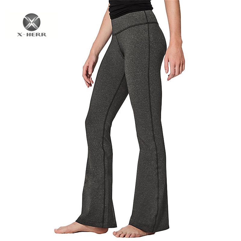 X-HERR Loose Style Yoga Pants Full Length Elastic Breathable Womens Sports Clothing Exercise Running Workout Trousers Women womens skinny jeans black blue colors 2017 new style vaqueros rotos mujer high elastic denim pencil pants full length trousers
