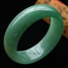 Gift word Love Green Fashion Retro Female Natural gem Bangle Bracelet 58 62mm Girl MEN