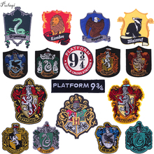 Pulaqi Cartoon Punk Patch Iron On Patches Badges Embroidered For Kids ClothingT-shirt Decor Accessories F