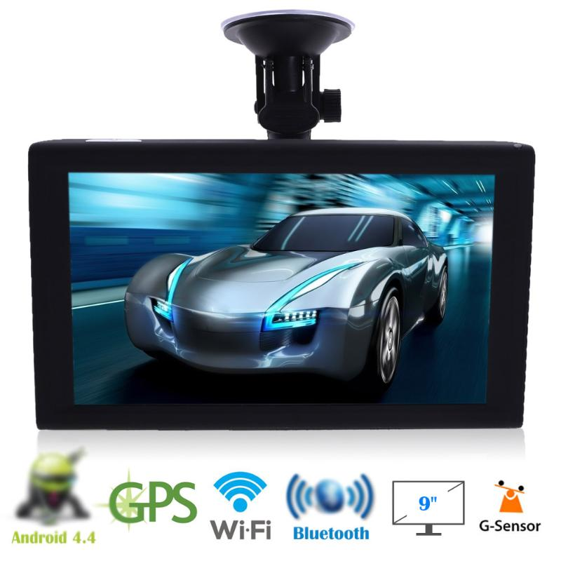 9 inch Car GPS Navigation Truck Tablet System 16G with Free Map+ DVR+Bluetooth Vehicle Truck GPS Navigator Northern American Map