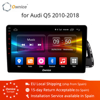 Ownice K1 K2 K3 K5 K6 10.1 inch Android 9.0 8 Core 2 DIN Car GPS PC for Audi Q5 2010 2011 2012 2018 Support 4G SIM DAB TPMS