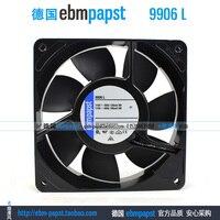 ebm papst 9906L 9906 L AC 115V 120mA 100mA 9W 8W 120x120x25mm Axial Fan