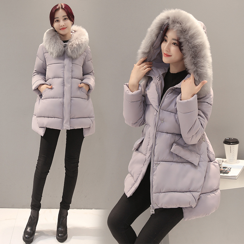 Long Style Maternity Winter Coat Cotton Padded Down Jacket for Pregnant Women Thicken Loose Hooded Outerwear Coat стоимость