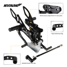 hot deal buy motorcycle motors accessories parts foot rests rear set adjustable foot pegs adjustable for yamaha yzf-r1 2007 2008
