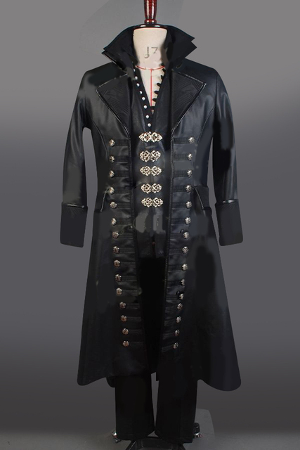 Once Upon A Time Halloween Costume | Once Upon A Time Cosplay Costume Captain Hook Costume Full Sets