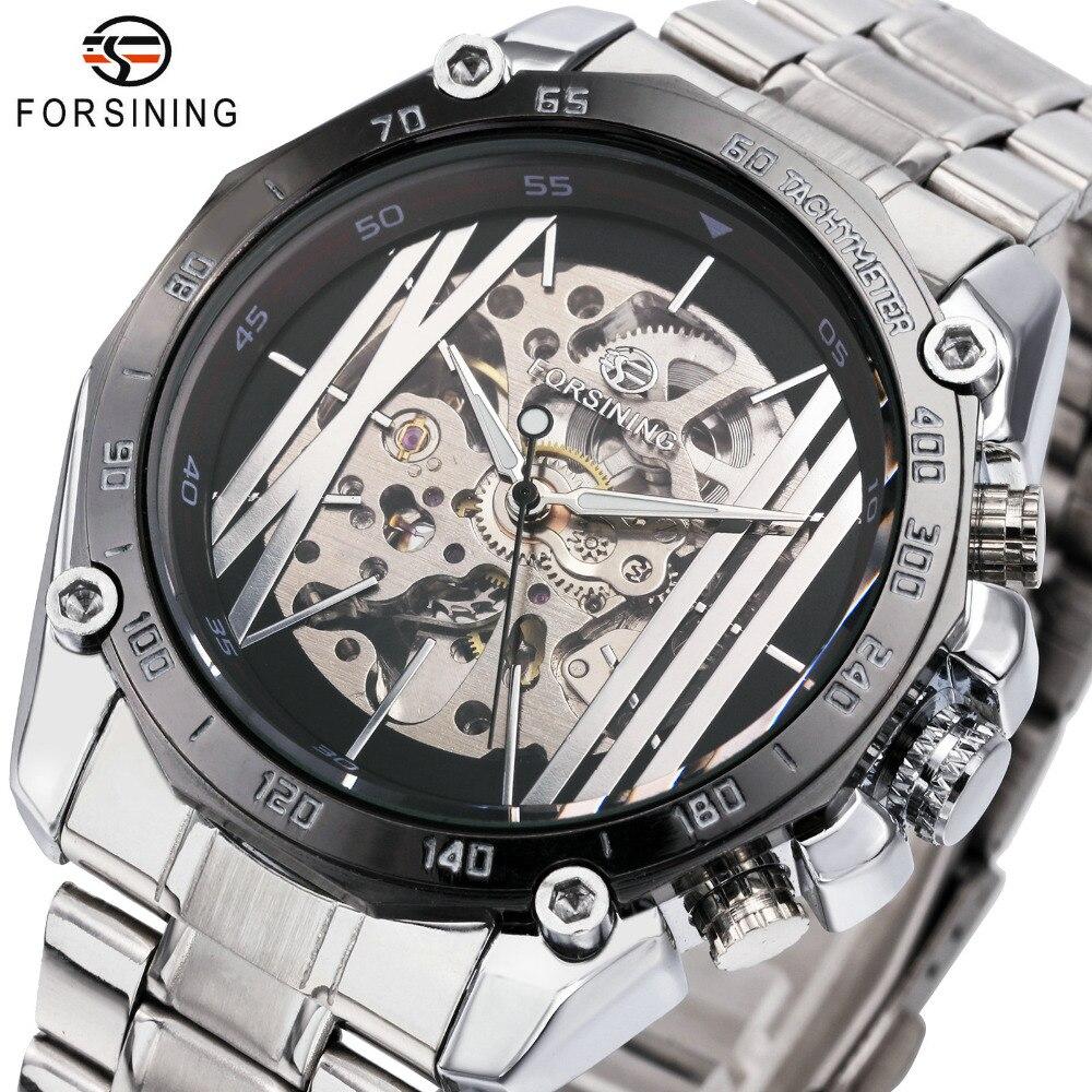 FÖRSINING Top Märke Luxury Watch Men Militär Automatisk Mekanisk - Herrklockor
