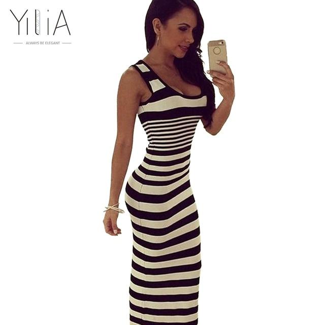 965bdd39621 Юлии новые летние пикантные в полоску платье с принтом Для женщин мода  рукавов Тонкий Beach Party