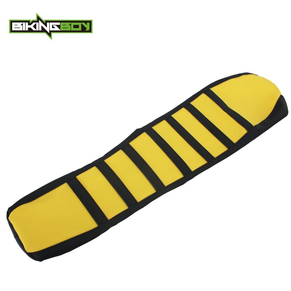 bikingboy motocross mx offroad striped ribbed gripper soft seat cover for suzuki  drz400 drz800 drz 400