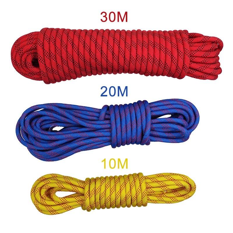 12mm corda de escalada corda de seguranca ao ar livre da parede da arvore equipamento de
