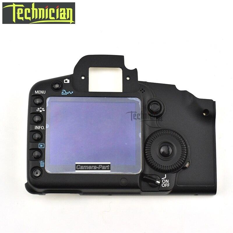 5D2 couverture arrière 5D Mark II coque de couverture arrière avec LCD et bouton Flex câble caméra pièces de rechange pour Canon