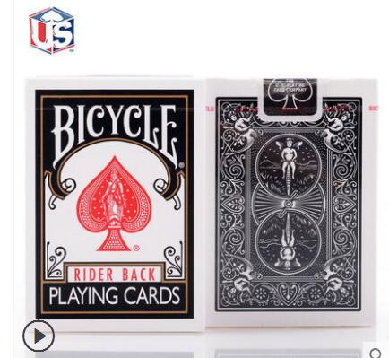 Free Shipping 1 Deck Red/ Blue/Bicycle Classic Black USPC Playing Cards Standard Poker Magic Props Party FavorFree Shipping 1 Deck Red/ Blue/Bicycle Classic Black USPC Playing Cards Standard Poker Magic Props Party Favor