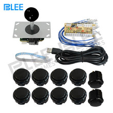 Zero Delay Arcade Game USB Encoder PC Joystick DIY Kit with Joystick Arcade Button for Mame Jamma(China)