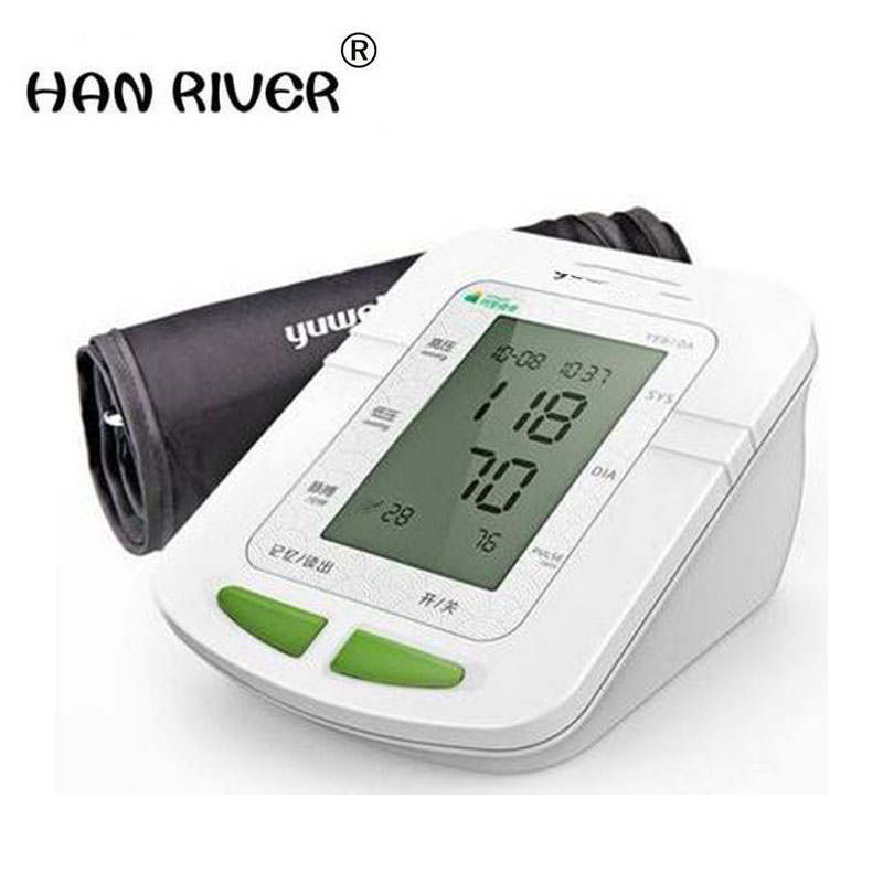 Electronic sphygmomanometer YE610A upper arm type of household intelligent automatic pressure gauge measuring blood pressure ins 170825 electronic sphygmomanometer on the arm home intelligent automatic measurement of blood pressure instruments