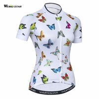 Weimostar Cycling Jersey Women Bike Jersey Road Cycling Jersey Youth MTB Bicycle Clothing Short Sleeve Top