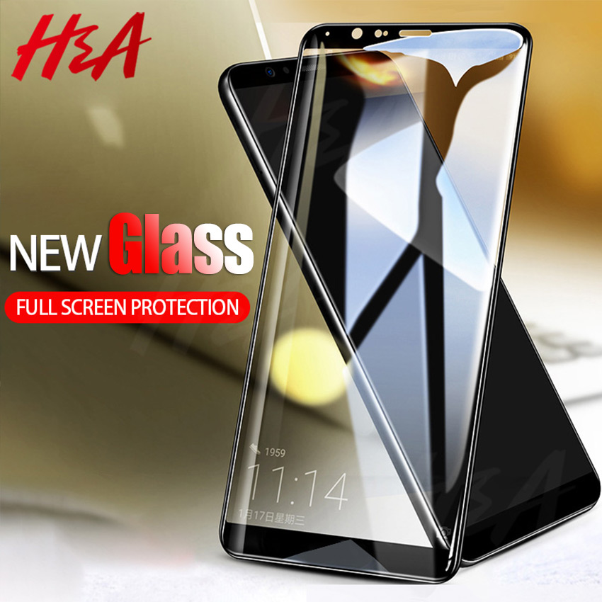 H&A Protective Glass on the For Xiaomi Redmi 6A S2 6 Pro Note 5 Tempered Screen Protector 0.24mm Glass for Redmi Note5 Film
