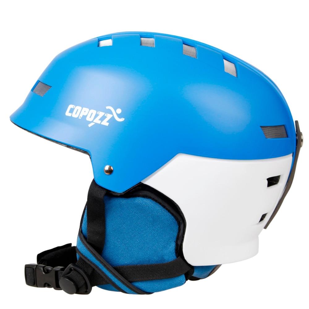 COPOZZ Ski Helmet Snowboard Helmet Men Women Skating Skateboard Skiing Winter Ski Helmet 010408 brand new ski helmet men women children snowboard helmet pc eps ultralight high quality skating skateboard skiing helmet