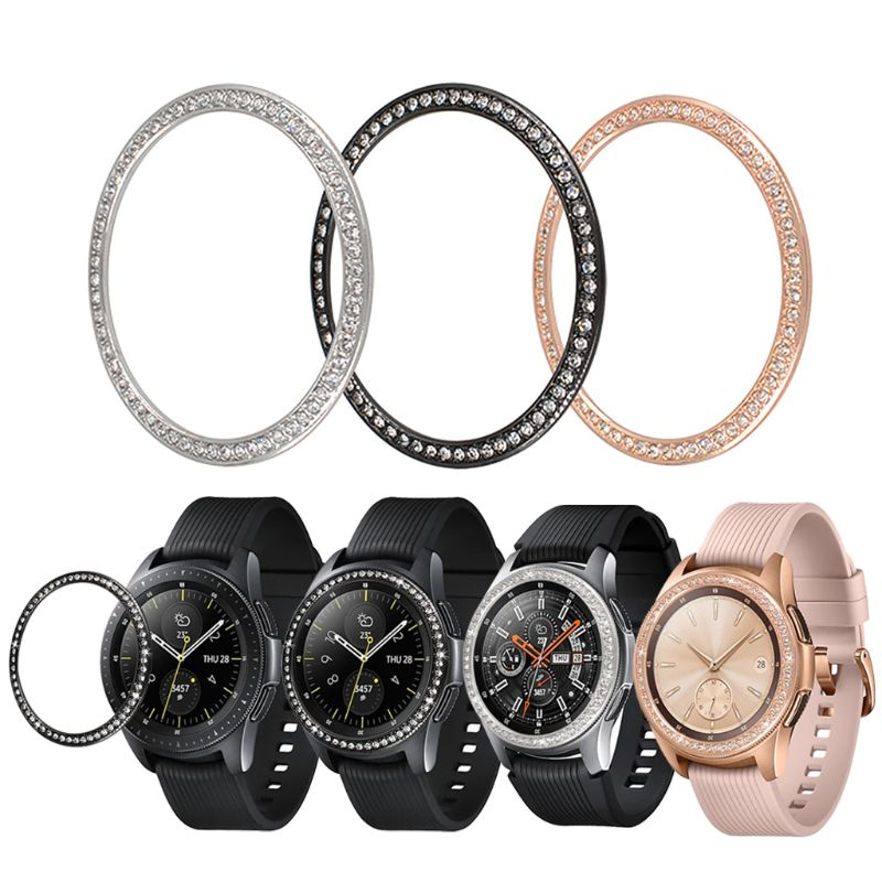 Anti Scratch Bezel Ring Replacement for Samsung Galaxy Watch 42MM/46MM/Gear S3 Frontier and Watch Accessories