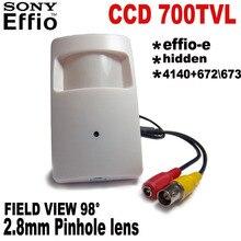1/3″ Sony CCD 960H 700tvl Security Indoor CCTV Mini PIR Style camera mini ccd Surveillance Camera 4140+672673 Analog Camera
