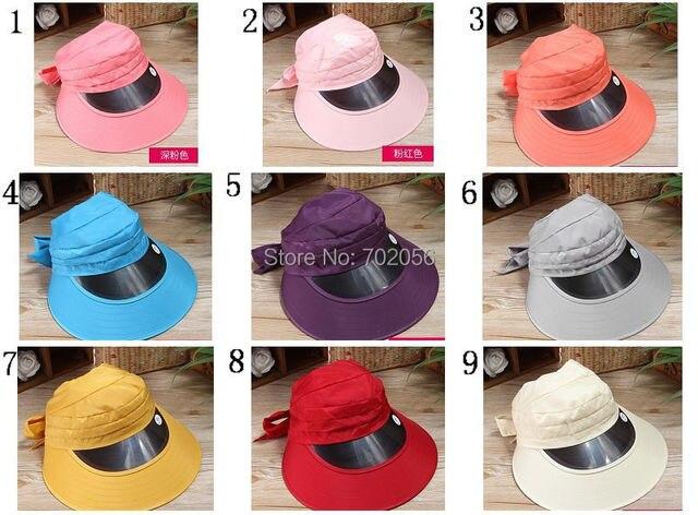 Korea trend Women solid Wide Brim hats Floppy Summer UV Protection Beach  Sun Hat Dome fishing Cap Factory sale 9colors 3854 433d551be53