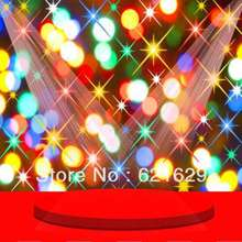 Sparkling stage 8'x8′ CP Computer-painted Scenic Photography Background Photo Studio Backdrop ZJZ-080