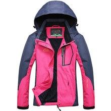 Jacket Women Outwear Hooded Windproof Waterproof Coats Jaque