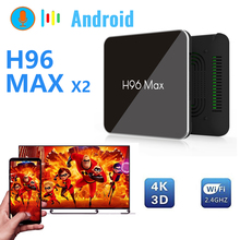 box tv h96 max X2 usb 3.0 android box smart tv box android 8.1 4k HDMI 2.0 Smart TV Box google play Youtube 4K Built-in software vorke z3 4k kodi tv box