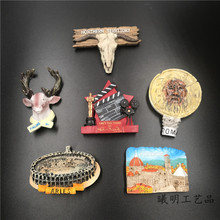 (5 pieces a lot)Rome, Italy, Finland, Australia, Australia, many countries, resin refrigerator a boulfroy rome