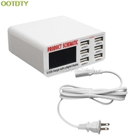 USB Fast Charger 6A 6 USB 2 0 USB 3 0 Port Fast Charger HUB Wall