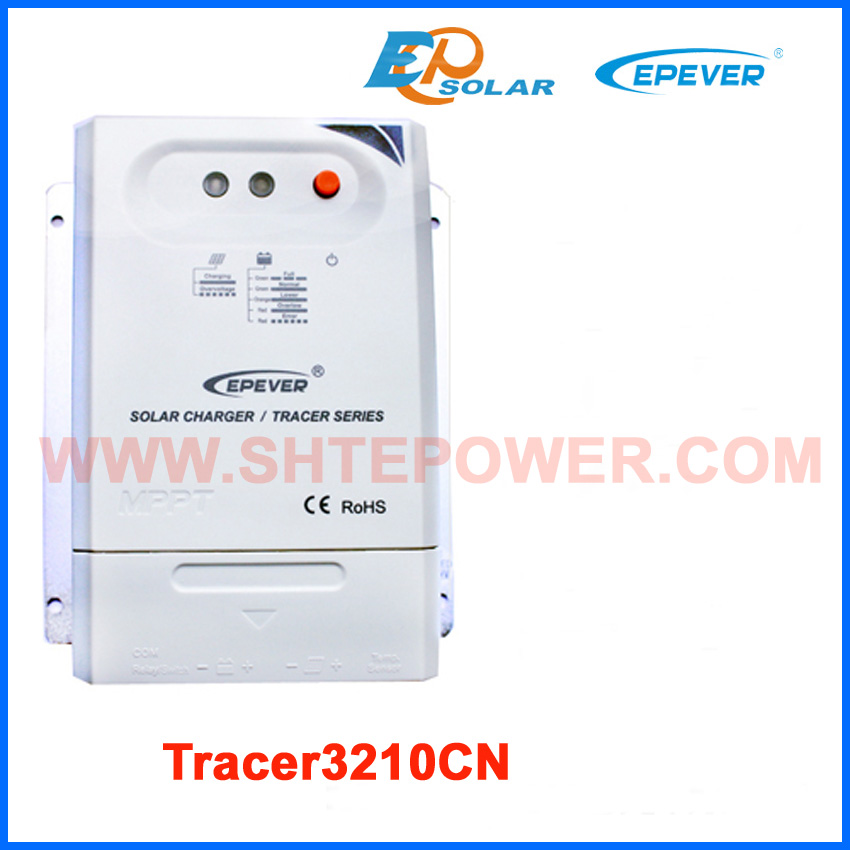 home Solar battery charging regulator MPPT Tracer3210CN 30A 20a 12 24v solar regulator with remote meter for duo battery charging