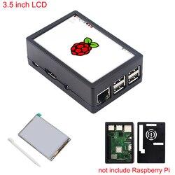 3,5 дюймов Raspberry Pi 3 Модель B + сенсорный экран 480*320 ЖК-дисплей Дисплей + стилус + ABS случае коробка также для Raspberry Pi 3 Модель B