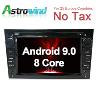 8 Core,4G RAM,32G ROM,Android 9.0 Car DVD Player GPS Navigation System Media Stereo Radio for Opel Vectra Astra Zafira Antara
