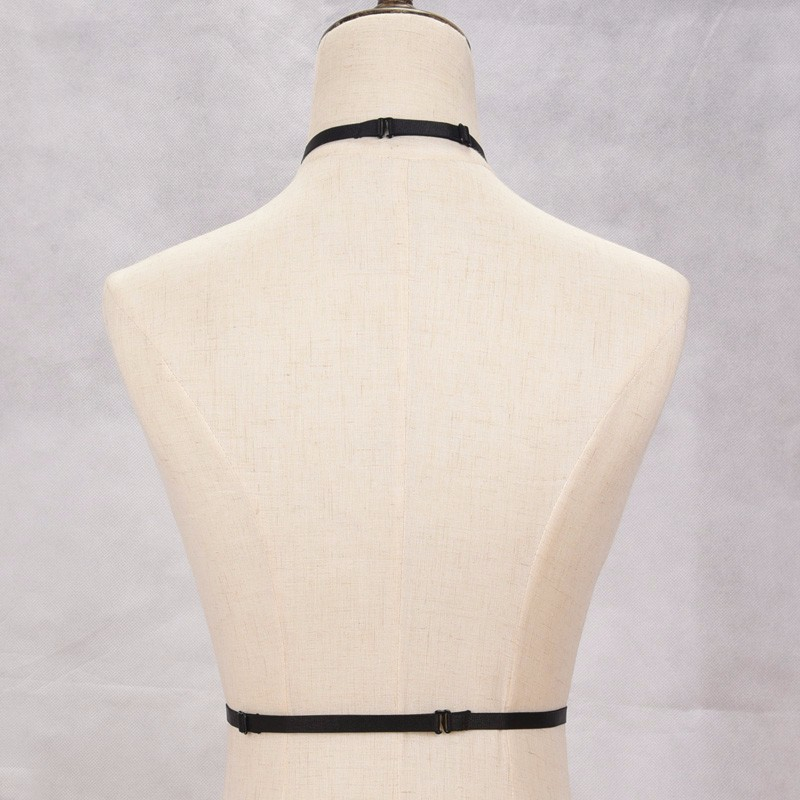 HTB1S.YDNVXXXXXPXXXXq6xXFXXXT Erotic Fetish Wear Adjustable Waist-Length Choker Body Harness For Women - 3 Colors