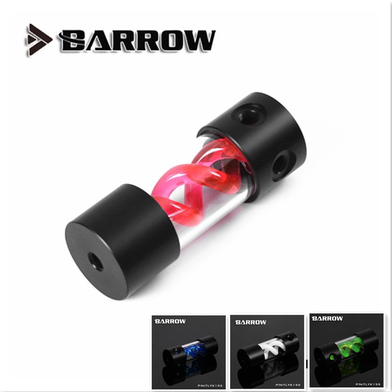 BARROW <font><b>T</b></font> <font><b>virus</b></font> <font><b>water</b></font> cooled cylindrical spiral suspension tank 155mm side hole / top hole TLYK155 image