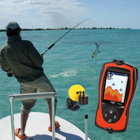 Lucky FF1108 1CT Sonar For Fishing Underwater Camera For Ice Fishing Fish Finder Echo Sounder For