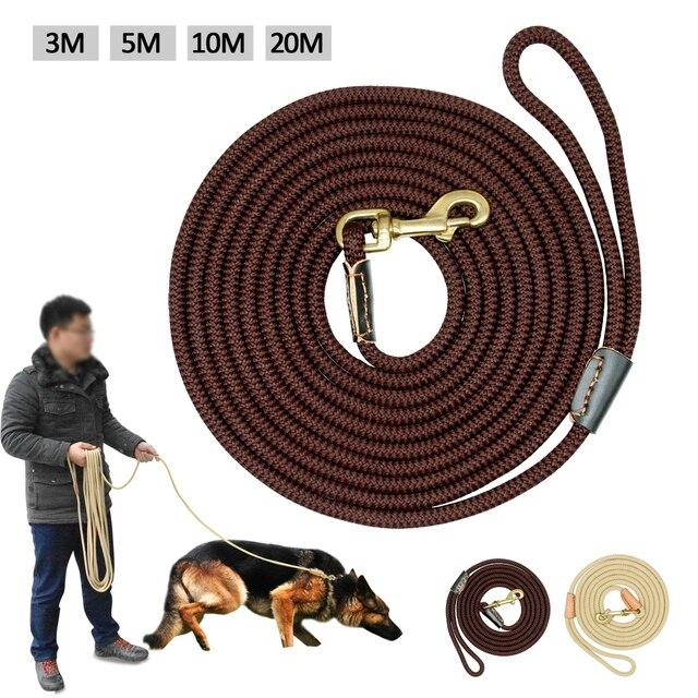 Durable Dog Inseguimento Guinzaglio In Nylon per Cavi Lunghi Corda Pet Formazion