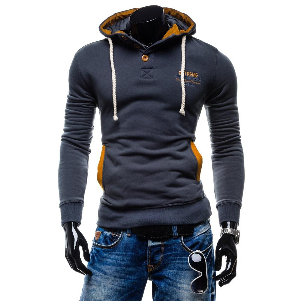 ZOGAA New mens fashion leisure hooded