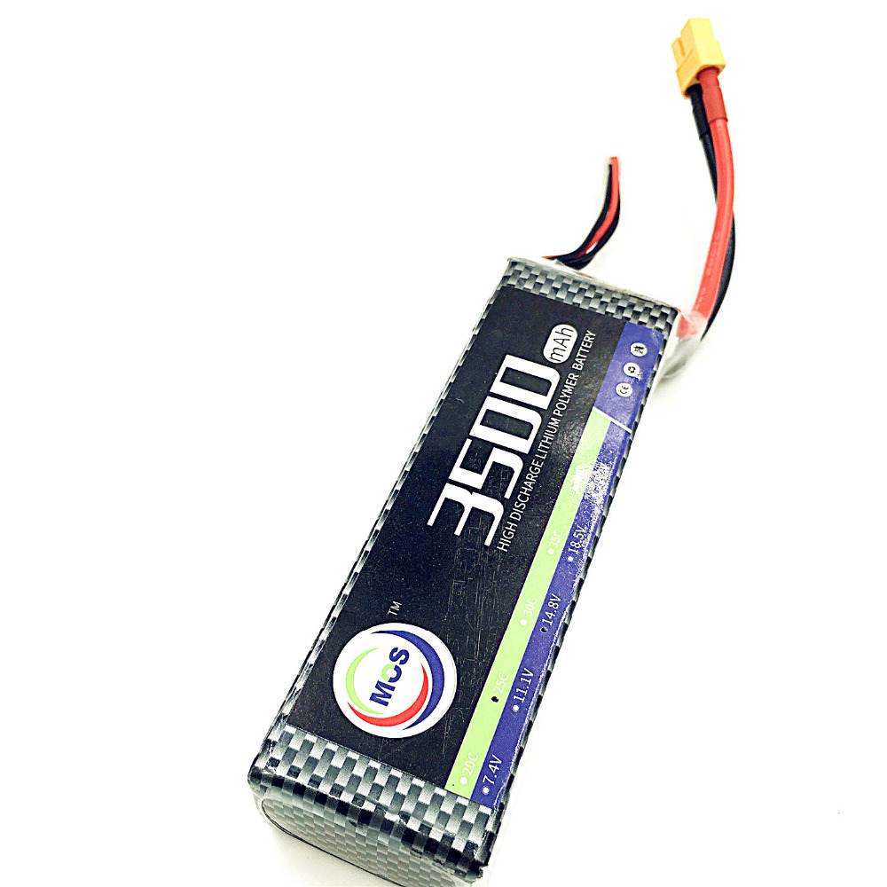 где купить MOS RC 3s Lipo battery 11.1v 3500mah 25C RC airplane quadcopter lithium polymer batteria 3s AKKU дешево