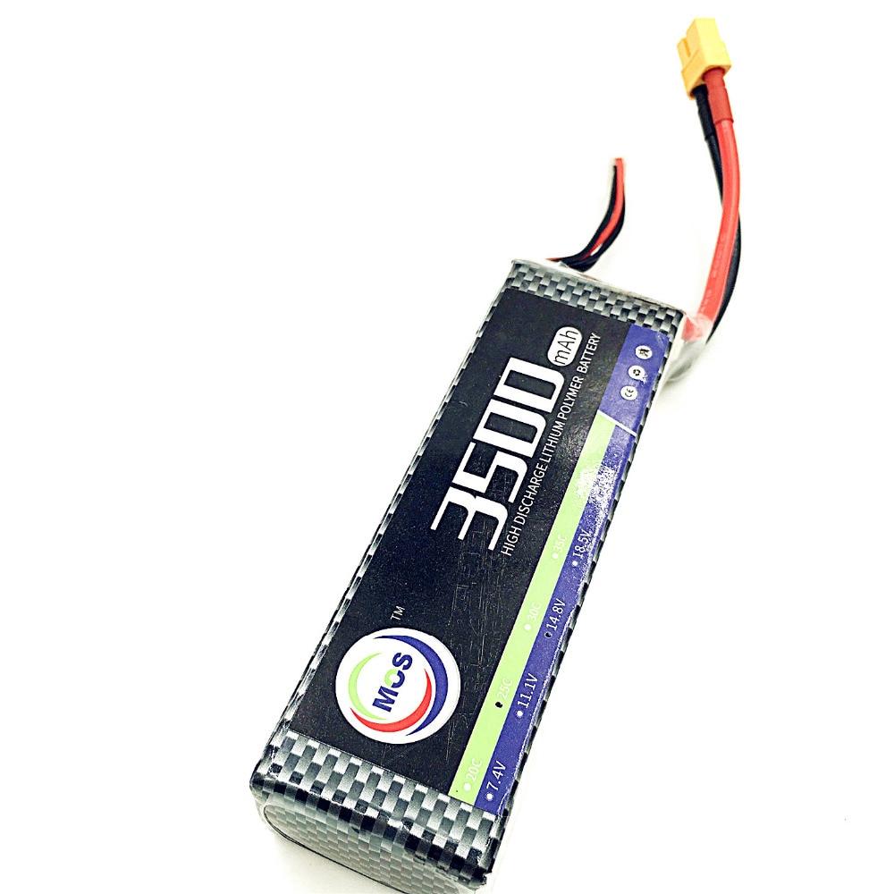 MOS RC 3s Lipo battery 11.1v 3500mah 25C RC airplane quadcopter lithium polymer batteria 3s AKKU 2pcs package mos 3s lipo battery 11 1v 1300mah 35c for rc airplane free shipping