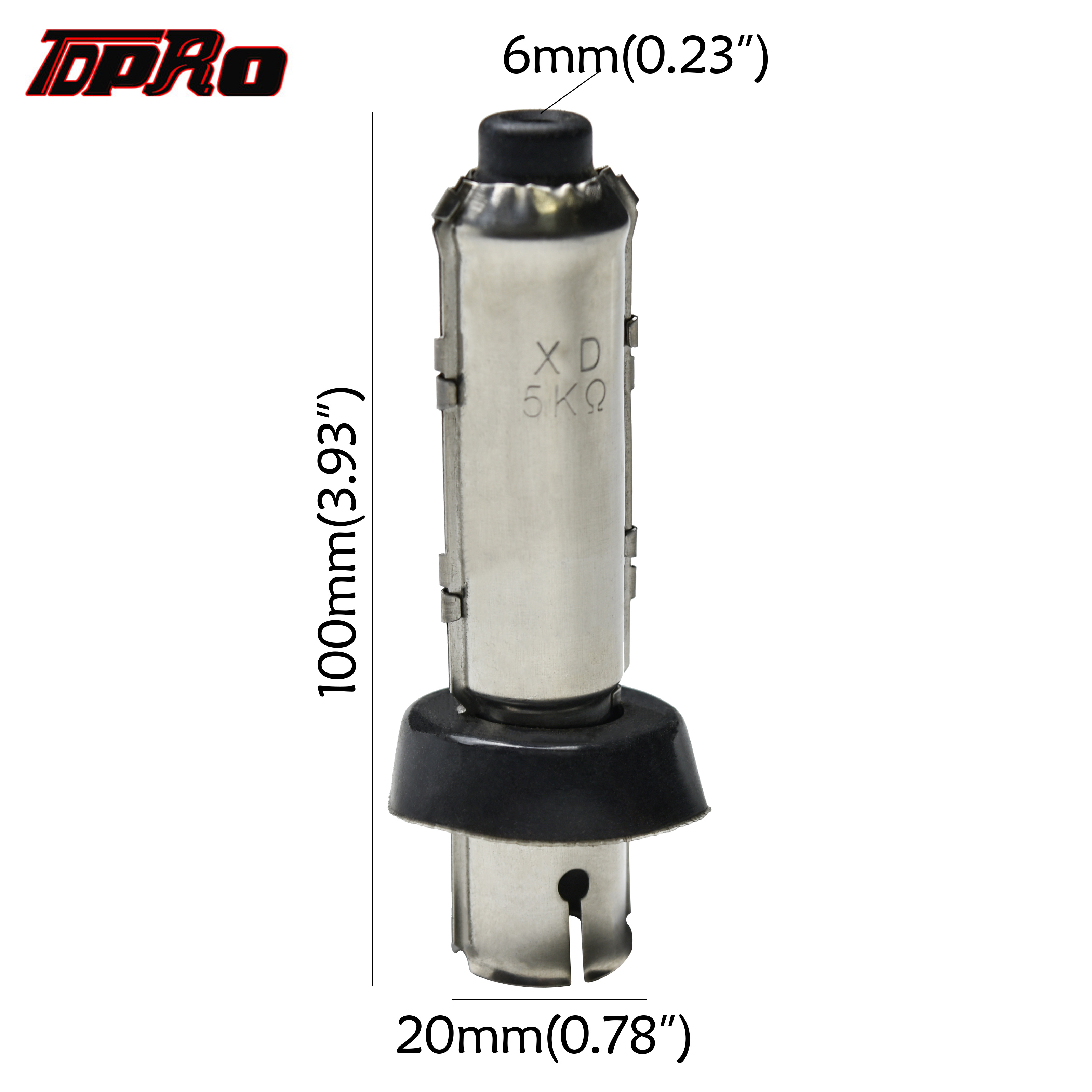 TDPRO Moped 180 Degree Ignition Coil Cap Waterproof Metal Spark Plug Caps New For Motorcycle Dirt Bike ATV Go kart Pitbike Quad image