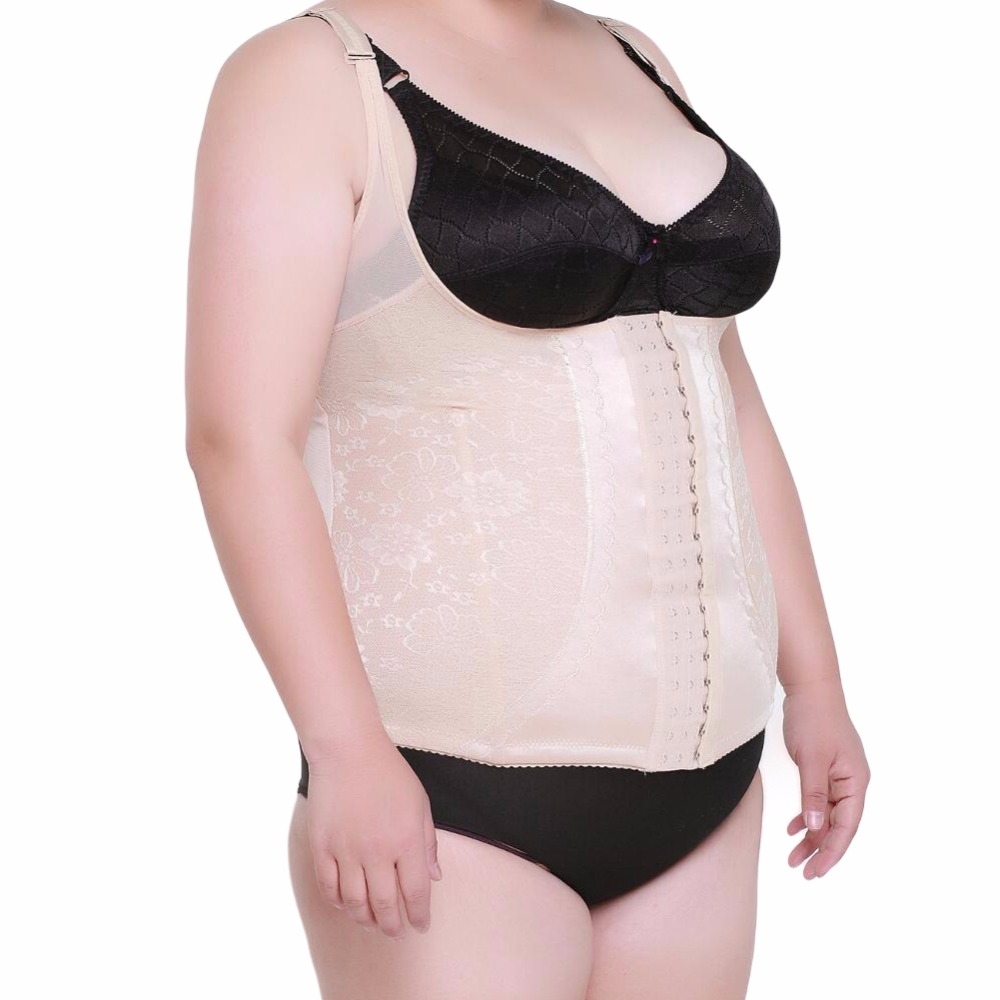 Large Plus Size Women Belly Band Slimming Corrective -7631