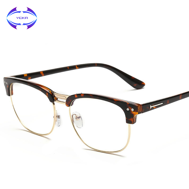 VCKA Women men Best Quality Optical Plank Frames myopia hyperopia ...