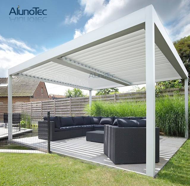 chinese gazebo waterproof aluminium pergola systems 3m x. Black Bedroom Furniture Sets. Home Design Ideas