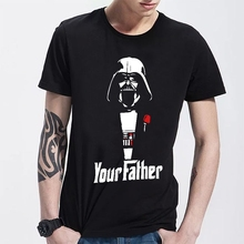 Star Wars Men T Shirts Short Sleeve Join The Empire Yoda/Darth Vader Cartoon Man t-shirts Cool Storm Trooper Tender Tshirt
