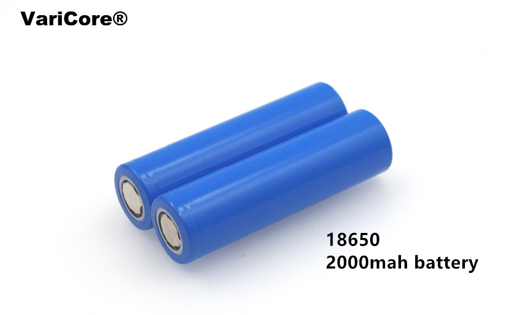 <font><b>4</b></font> <font><b>pcs</b></font>.. New <font><b>18650</b></font> Rechargeable <font><b>Battery</b></font> 3.7V 2000 mAh 5C Power Discharge Li-ion <font><b>Battery</b></font> Group Flashlight for Mobile Device image