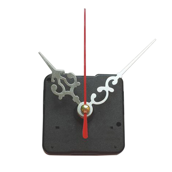 Fedex 100 sets DIY Mechanism Quartz Clock Movement Parts Replacement Repair Tools Set Kit All-Black Hands Gift