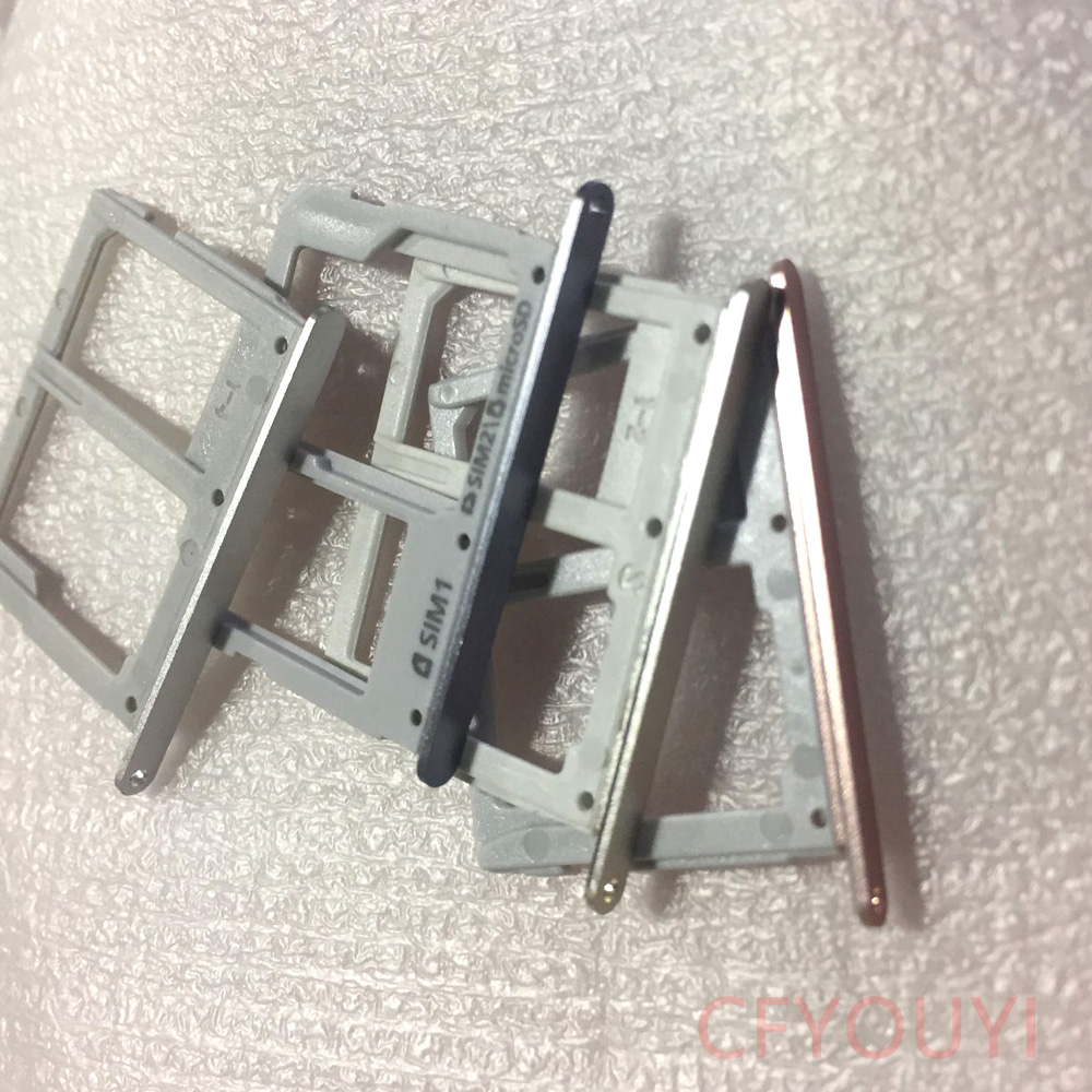 For Samsung Galaxy A3 A5 A7 (2016) Replacement Parts OEM SIM / Micro SD Card Tray Holder Slot For Galaxy A3 A310 A5 A510 A7 A710