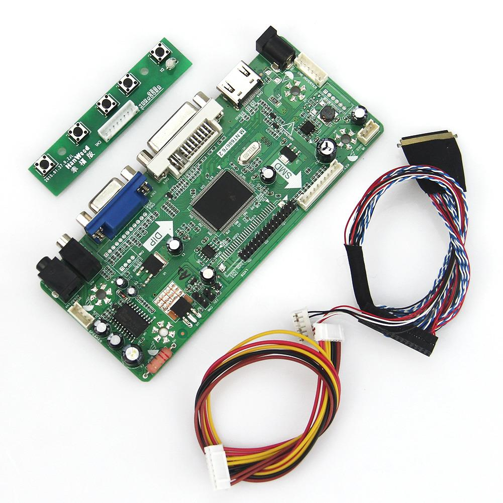 M.NT68676 LCD/LED Controller Driver Board(HDMI+VGA+DVI+Audio) LVDS Monitor Reuse Laptop 1920*1080 For B173HW01 N173HGE-L11 for lp156wh3 tl a2 vga dvi m rt2261 m rt2281 lcd led controller driver board lvds monitor reuse laptop 1366x768