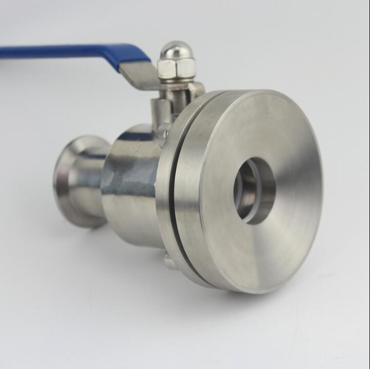 Санитарно нержавеющая сталь 304 O.D 19 102 мм нижний клапан водяной насос класс бак нижний шаровой клапан фланец Бак Нижний клапан